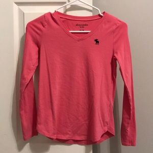 Girls Abercrombie long sleeve top